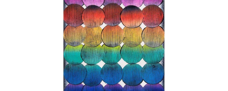 "Jens Schubert, ""Formosus"", Linoldruck, 60x50cm, 2014"